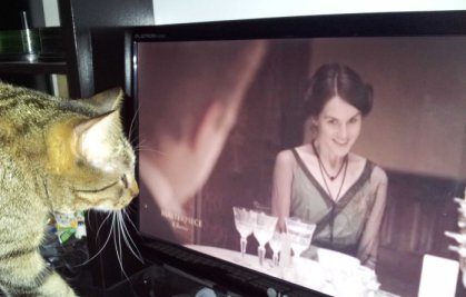 Crepes watching Downton Abbey